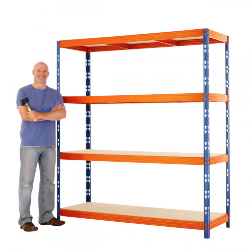 Max 1 Heavy Duty Shelving 2000 H x 1800 W x 900 D
