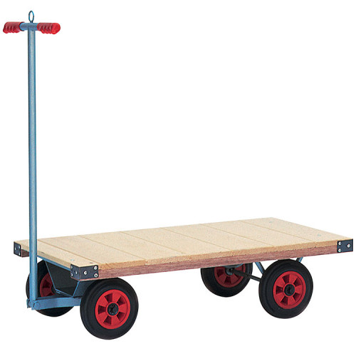 Turntable Trolley with Cushion Wheels - 150Kg Capacity