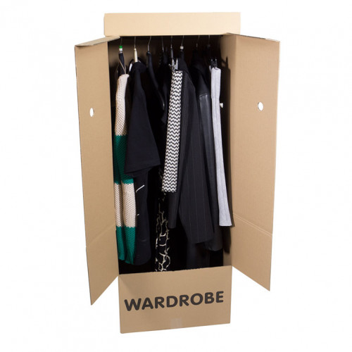 Wardrobe Box Open