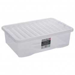 32 Litre Clear Box and Lid