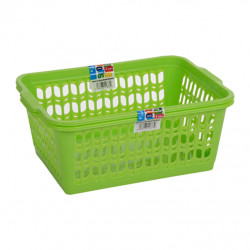 Set of 2 Large Green Handy Baskets