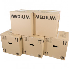 Eco Medium Boxes x 15 Pack