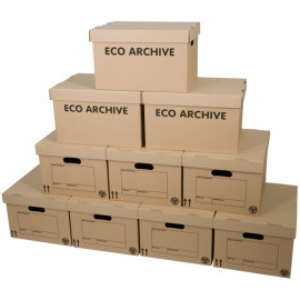 Eco Archive Boxes x 10 Pack
