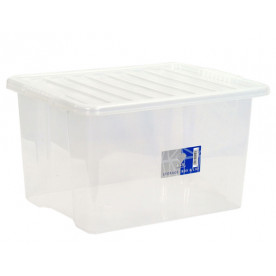 30 Litre Clear Storage Box