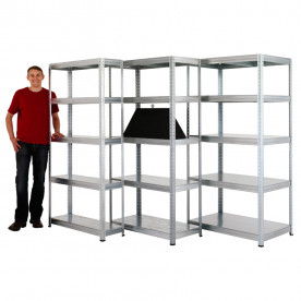 Value Galvanised Shelving 300mm