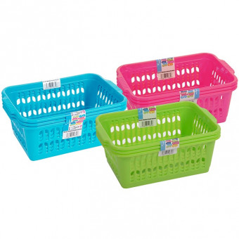 Set of 3 Medium Baskets | Colourful Handy Baskets