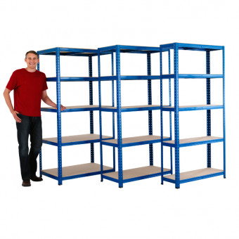 Value Galvanised Shelving 450mm