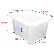 24lt storage boxes