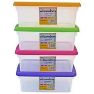 3.5 Litre Storage Box - Set of 4