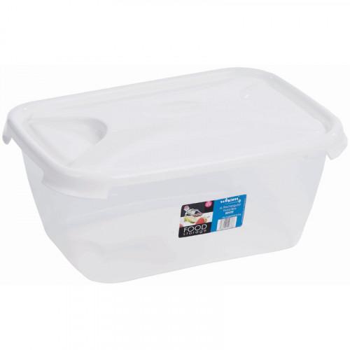 6 Litre Clear Plastic Food Grade Box | Food Grade Boxes