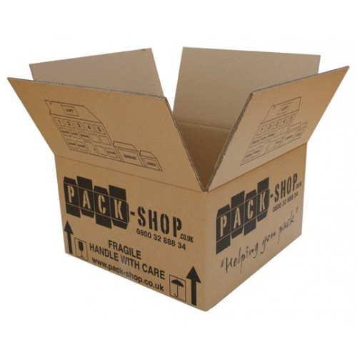 Cardboard Book boxes
