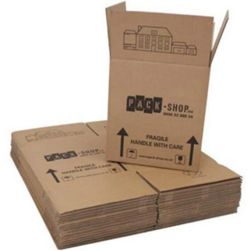 Pack 15 Large Moving Boxes