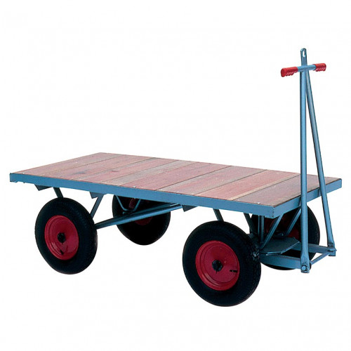 Turntable Trolley with Cushion Wheels - 1000Kg Capacity