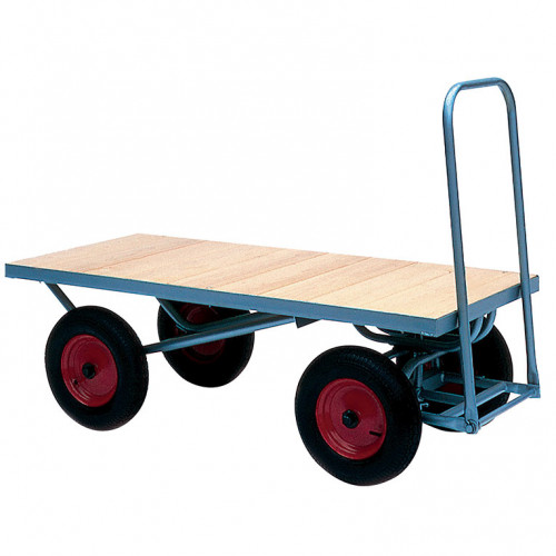 Turntable Trolley with Cushion Wheels - 500Kg Capacity