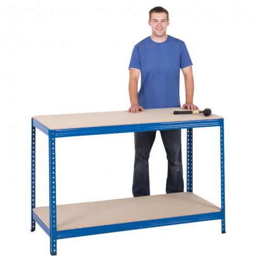 Value Chipboard Workbench 1400mm Wide