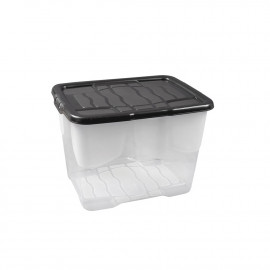 24 Litre Box with Black Lid