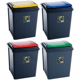 50 Litre Black Recycling Bins