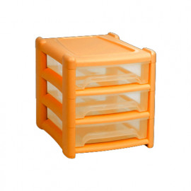 Shallow 3 Draw Unit Sunflower Orange
