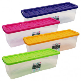 20 Litre Shallow Shelf CD Boxes and Lids