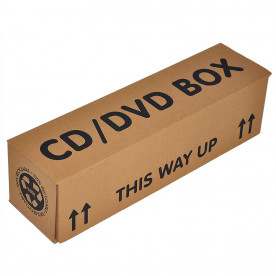 CD DVD Boxes x 10 Pack