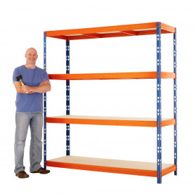 Max 1 Heavy Duty Shelving 2000 H x 2400 W x 450 D