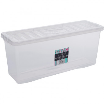 26 Litre Clear DVD Box