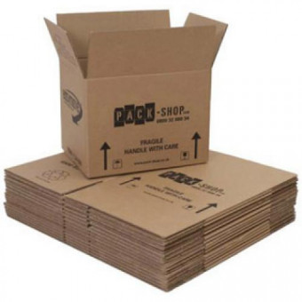 Medium Packing Boxes 15 Pack