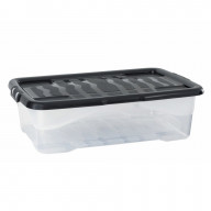 40 Litre Clear Under Bed Storage Box