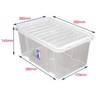 8 Litre Storage boxes