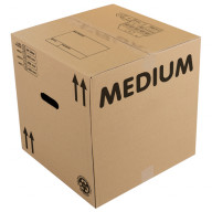 eco-medium cardboard box