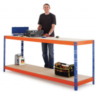 Max Workbench - 900 H x 2400 W x 1200 D