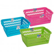 Set of 3 Large Baskets | Plastic Handy Baskets